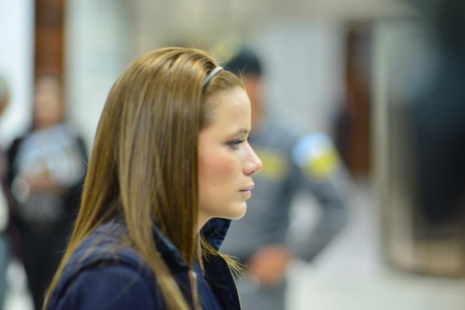 La exdiputada y exasistente de Baldetti, Daniela Beltranena a su llegada a la jornada 24 del caso Cooptación del Estado. (Foto: Jesús Alfonso/Soy502)