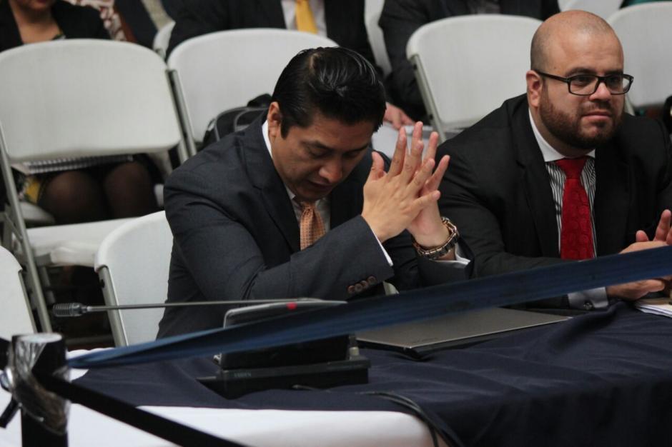 El abogado Mario Cano fue ligado a proceso por el delito de lavado de dinero. (Foto: Alejandro Balán/Soy502)
