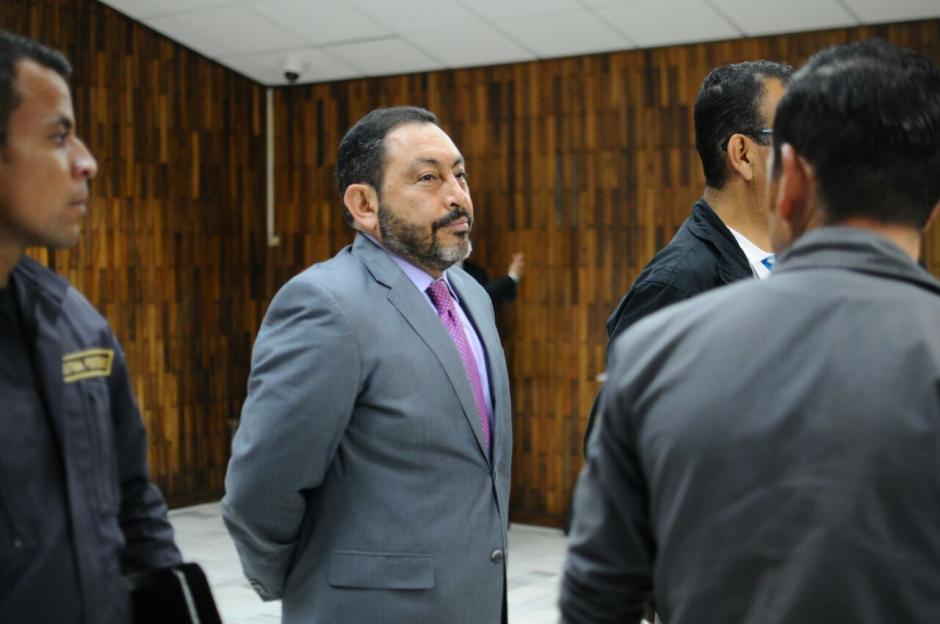 El exministro de Gobernación, Mauricio López Bonilla, fue ligado a proceso.  (Foto: Alejandro Balán/Soy502)