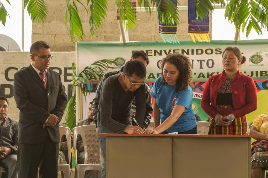 Con este proyecto se busca reducir la migración hacia Estados Unidos de la comunidad de Chuatroj. (Foto: Cortesía de Eileen Sandoval)
