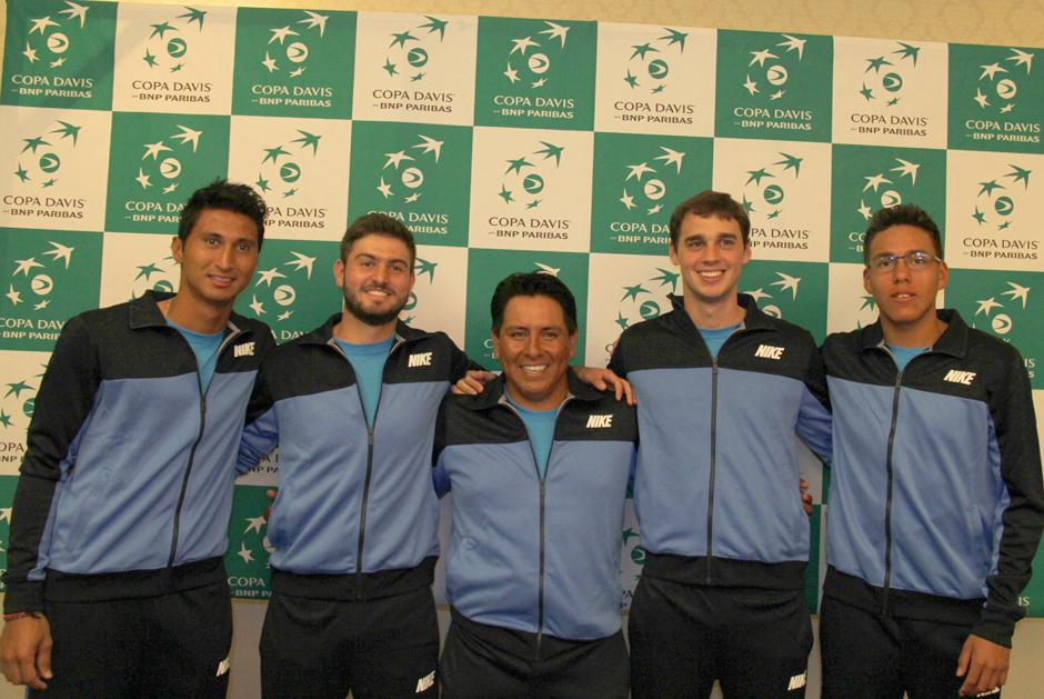 Copa Davis, Guatemala, Bolivia, permanencia grupo II de la zona americana