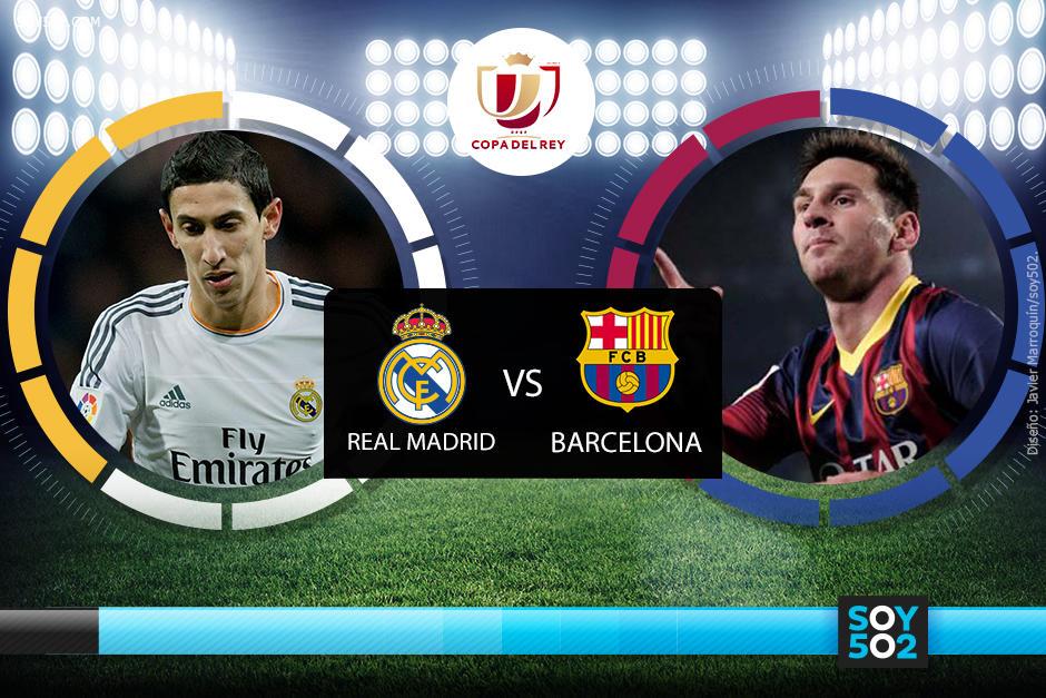 Sigue minuto a minuto el encuentro de la Final de la Copa del Rey entre el Barcelona y el Real Madrid.