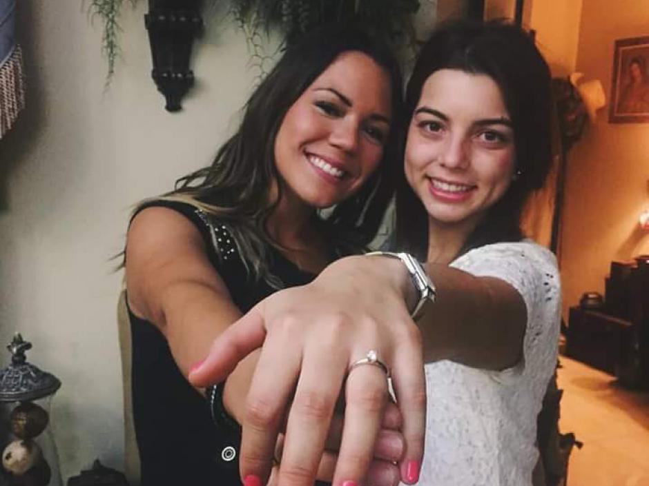 Emma Paz Ayala lucía su anillo de compromiso en las redes sociales. (Foto: Debate México)