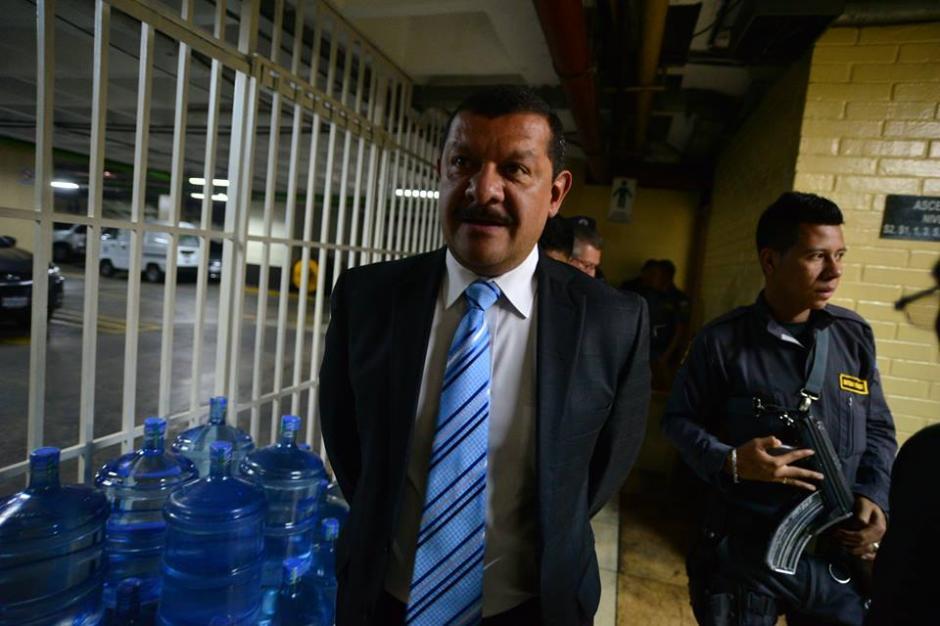 Coro fue llevado a carceleta de Tribunales mientras la juez dictamina.(Foto: Wilder López/Soy502)