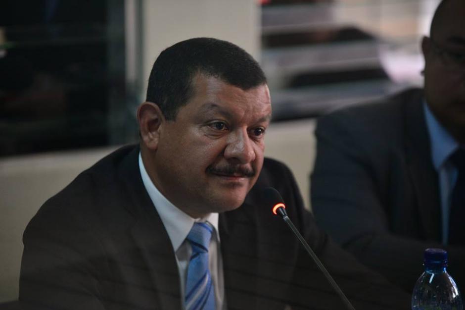 """Antonio Coro, exalcalde de Santa Catarina Pinula dijo en su defensa """"yo no tuve la facultad como alcalde de declarar las alertas"""". (Foto: Wilder López/Soy502)"""