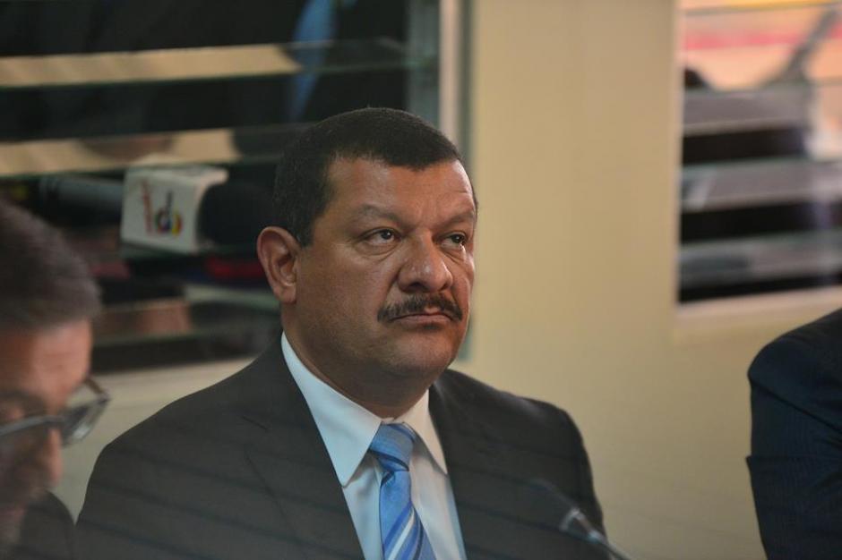 José Antonio Coro ofreció su primera declaración en el caso de El Cambray II por lo que fue aprehendido. (Foto: Wilder López/Soy502)