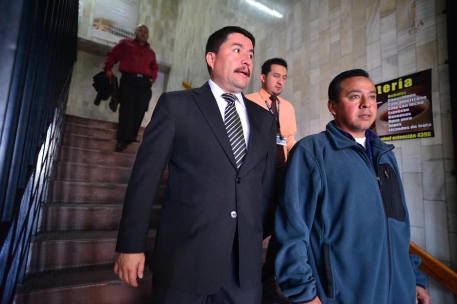 El proceso es acompañado por el actual alcalde de Santa Catarina Pinula, Víctor Alvarizaes.(Foto: Wilder López/Soy502)