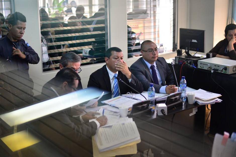 La jueza dio un receso para almorzar y luego dictaminar si Coro quedará ligado a proceso.(Foto: Wilder López/Soy502)