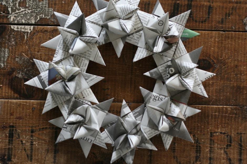 El papel periódico luce elegante con trabajos como estos. (Foto: Linaloo.typepad)