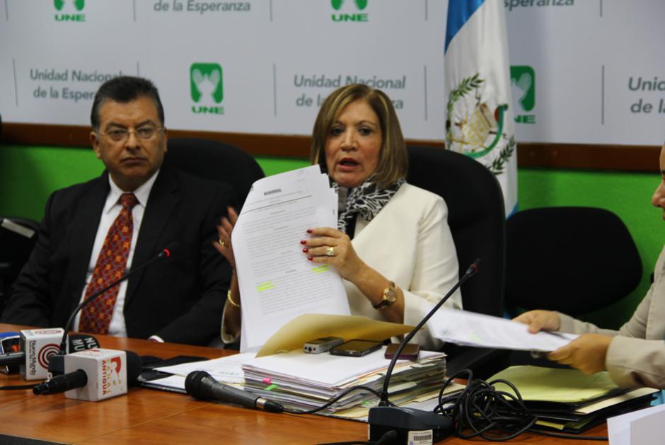 Villagrán presentará la demanda de nulidad la próxima. (Foto: Alejandro Ortiz/Soy502)