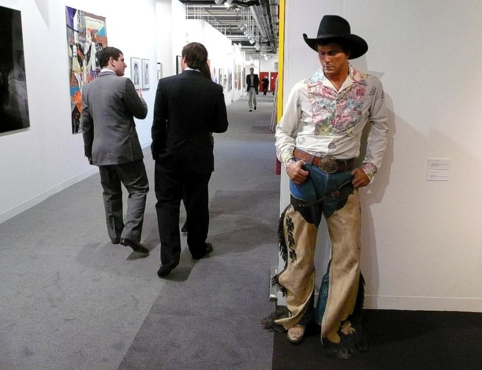 """""""Fancy dude cowboy"""", cuya realización se vivió de 1984 a 1989, es parte de los personajes que el artista estadounidense revive. (Foto: g-truc.net)"""