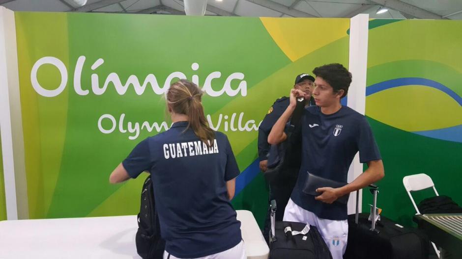 Martínez consiguió una histórica marca A en natación. (Foto: COG)