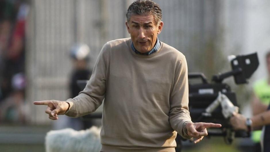 """""""El Patón"""" Bauza es el nuevo seleccionador de Argentina. (Foto: Twitter)"""