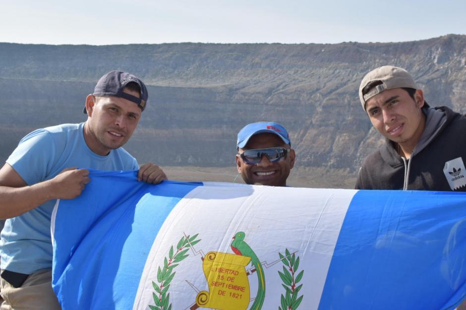 JC Pérez escaló el volcán más alto de El Salvador. (Foto: Cortesía de JC Pérez)