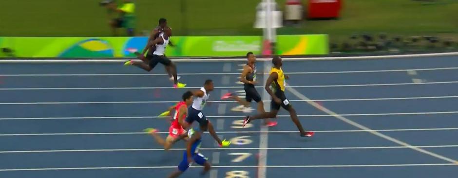 Usain dominó la prueba de 100 metros planos. (Foto: EFE)
