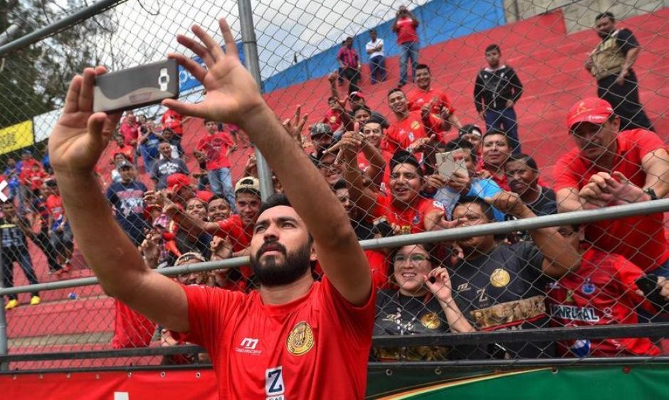 Carlos Kamiani Félix es duda para el partido de la final. (Foto: Archivo)