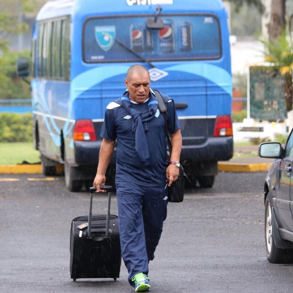 """Juan Carlos """"el Pin"""" Plata es parte del cuerpo técnico de la Bicolor. (Foto: FedefutGuate)"""