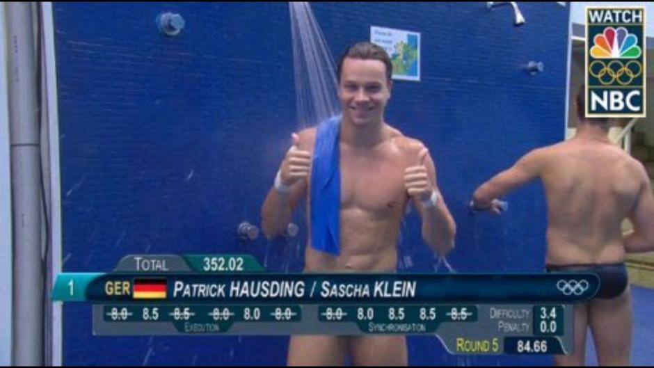 Los nadadores no supieron a lo que estuvieron expuestos. (Foto: Twitter)