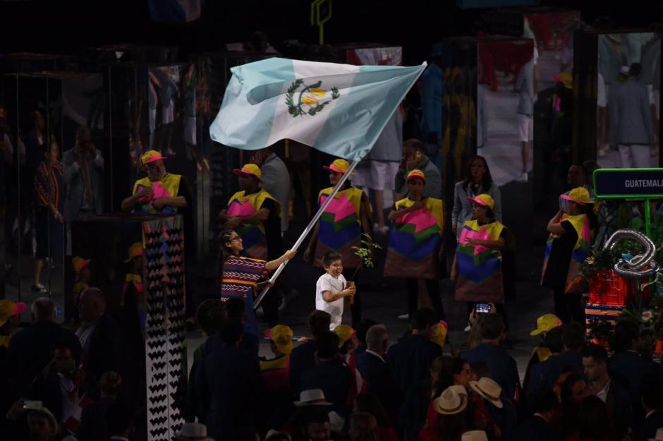 Guatemala desfiló en Río 2016. (Foto: COG)