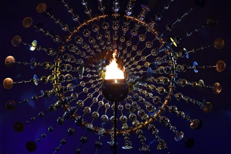 El fuego olímpico ya brilla en Río de Janeiro. (Foto: EFE)