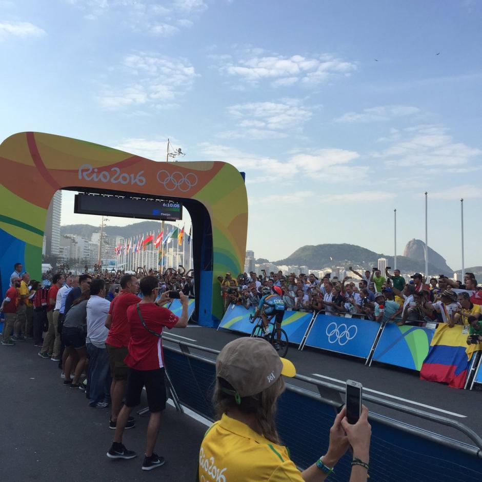 Greg Van Avermaet (6:10:05) ganó la prueba de ciclismo de ruta en Río 2016. (Foto: Aldo Martínez/Enviado de Nuestro DIario)