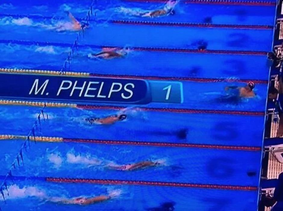 Michael Phelps no se cansa de ganar medallas en Río. (Foto: Twitter)