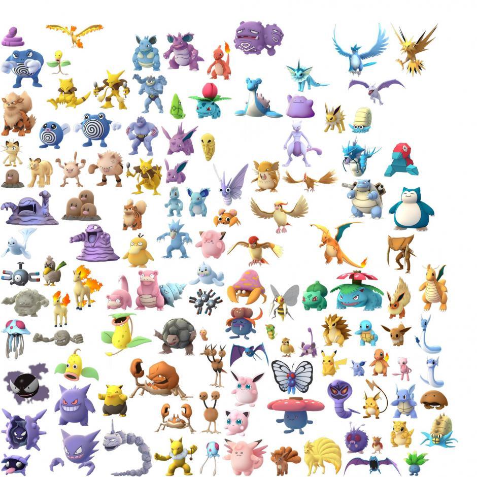 Estos son los Pokémon que puedes capturar. (Foto: cpokemon.com)