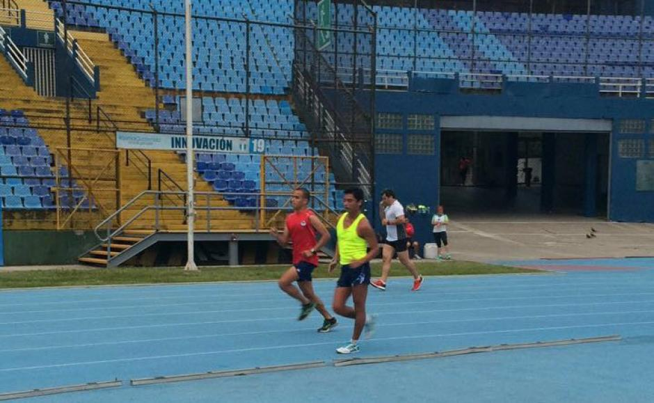 Barrondo fue captado corriendo de madrugada previo a viajar a Río de Janeiro. (Foto: COG)
