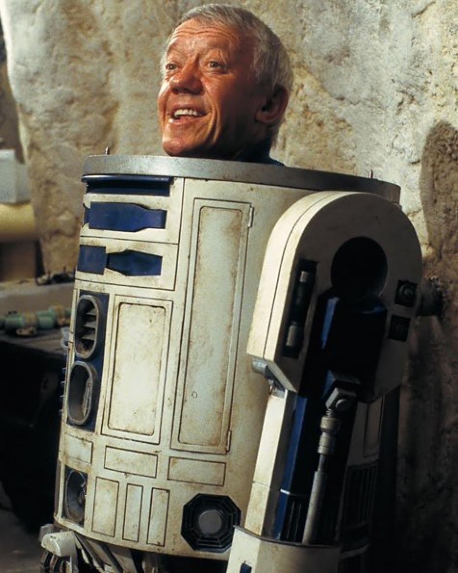 Baker refirió que el traje de R2-D2 siempre le dio un poder especial. (Foto: Twitter)