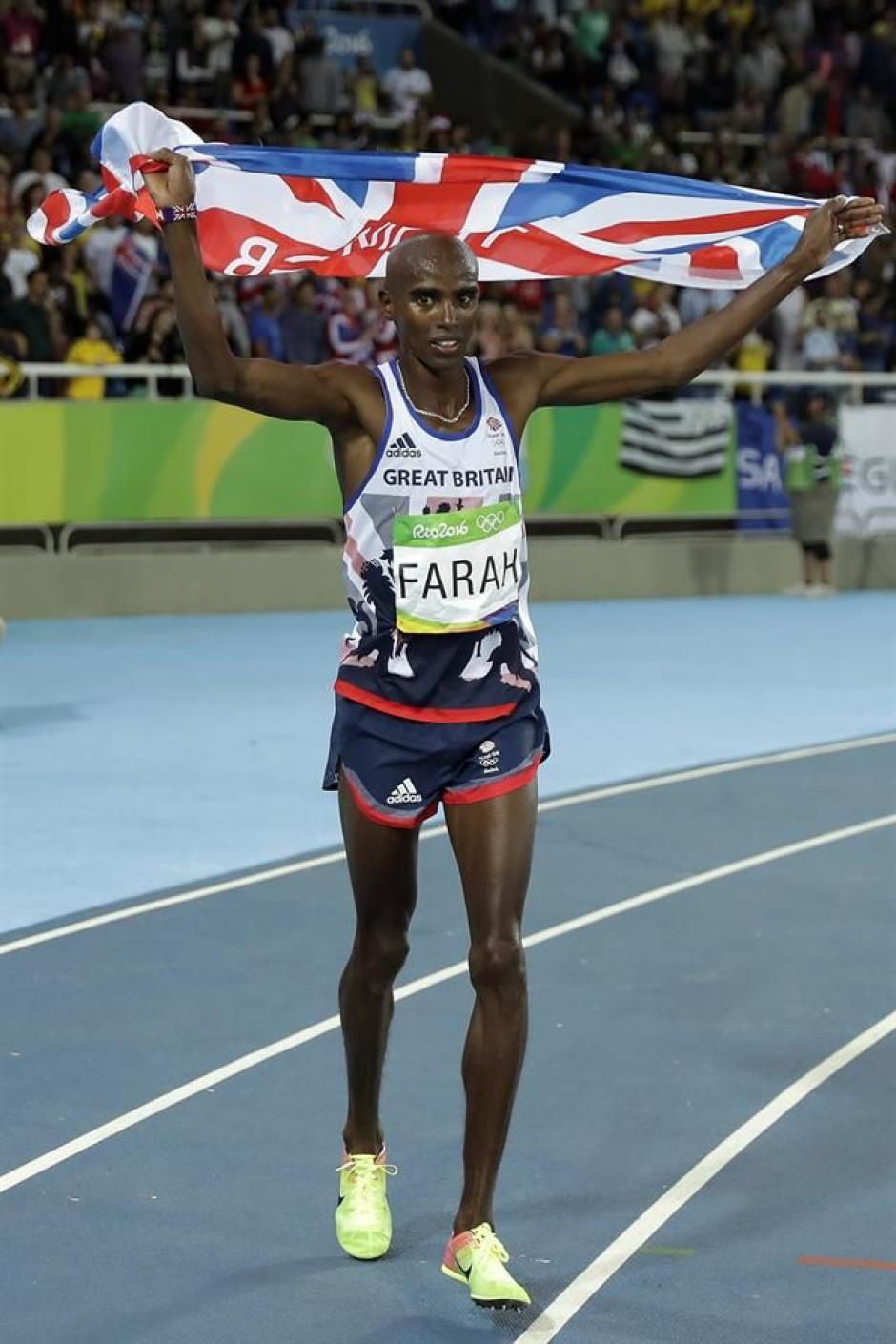 El británico volvió a ganar el oro y ya hace historia en el atletismo mundial. (Foto: EFE)