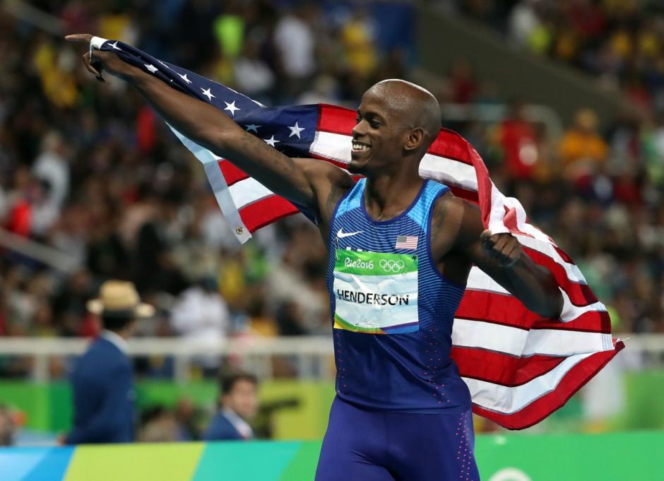 Henderson sigue sumando oros a la delegación estadounidense. (Foto: EFE)