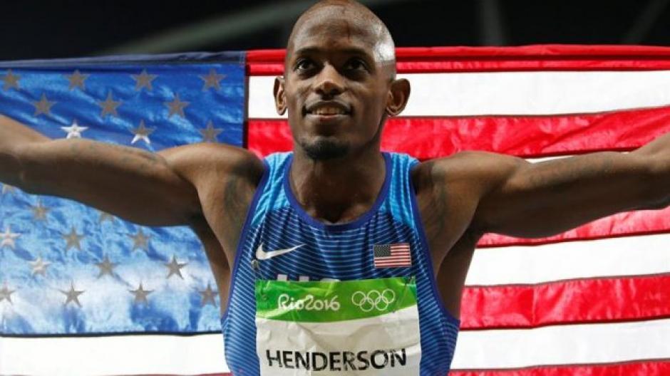 Jeff Henderson el el rey del salto de longitud. (Foto: EFE)