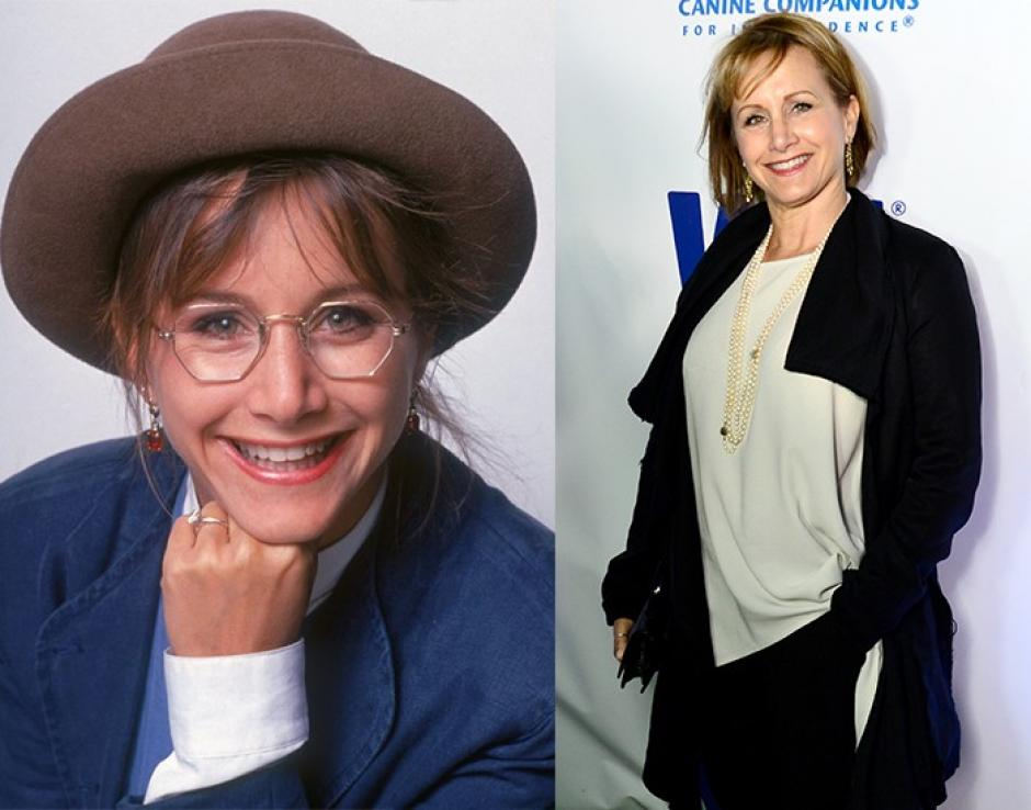 Andrea Zuckerman fue interpretada por Gabrielle Carteris, era la chica inteligente de la serie