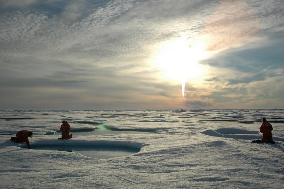 Científicos ven con preocupación la aparición de ocho mil lagos en la Antártica. (Foto: Twitter)
