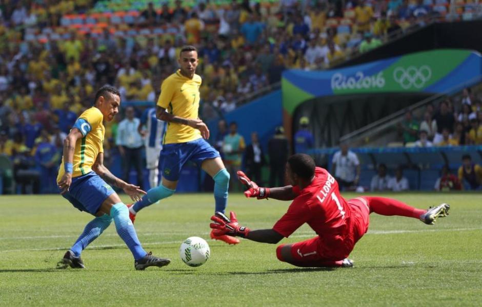 Neymar está con la Selección de Brasil en los Juegos Olímpicos. (Foto: EFe)