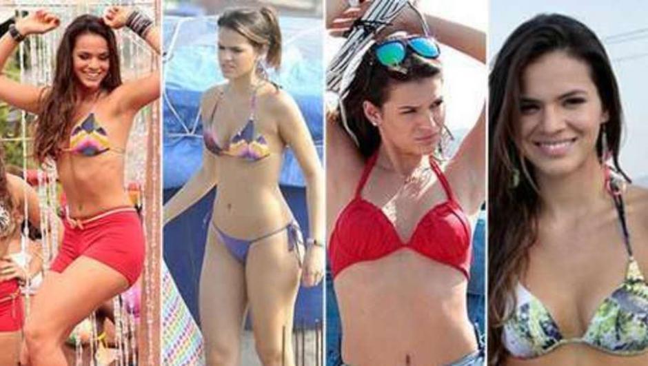 Bruna Marquezine, novia de Neymar,  se roba las miradas a donde va. (Foto: Twitter)