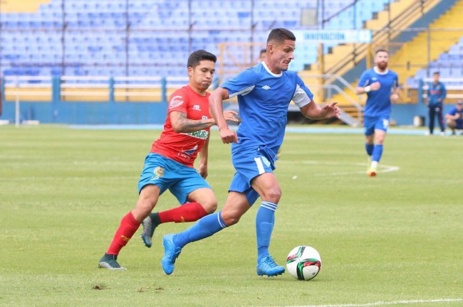 Jairo Arreola vuelve a la convocatoria de la Selección de Guatemala. (Foto: Fedefut)
