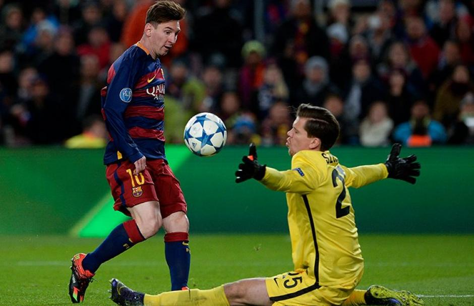 Messi le anotó a la Roma y fue elegido el mejor gol de la temporada para la UEFA. (Foto: EFE)
