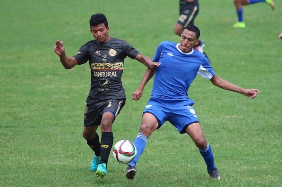 La Sele con equipo alterno enfrentó al equipo de Segunda División de Municipal. (Foto: Fedefut)