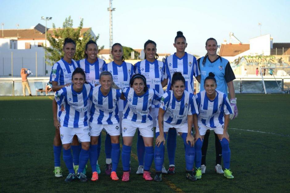 El Sporting de Huelva goleó a domicilio 10-1 al Hispalin. (Foto: Twitter)