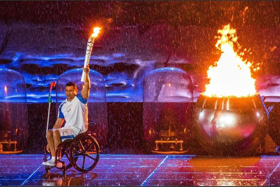 Todos de pie Rio 2016 foto