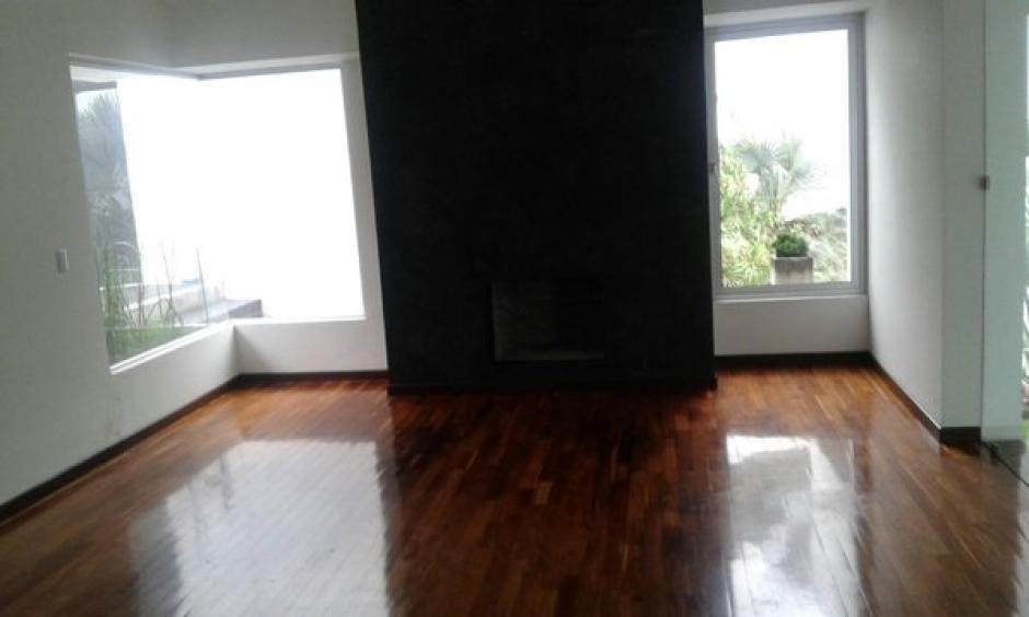 Vista del interior de la residencia de Roxana Baldetti, ubicada en Los Eucaliptos. (Foto: MP)
