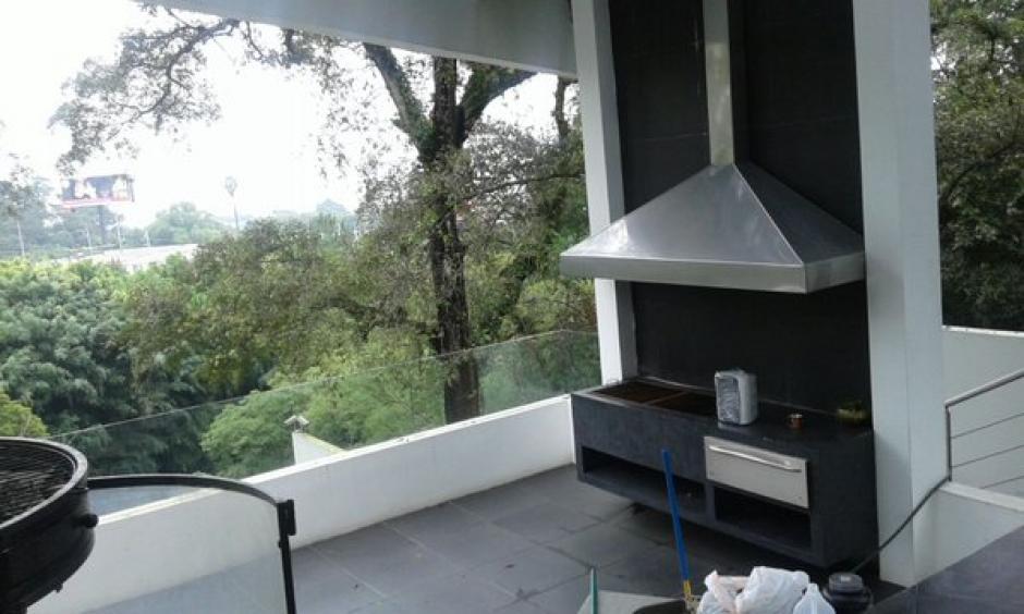 La vivienda de Baldetti en Los Eucaliptos estaría voladora en 2.5 millones de dólares. (Foto: MP)
