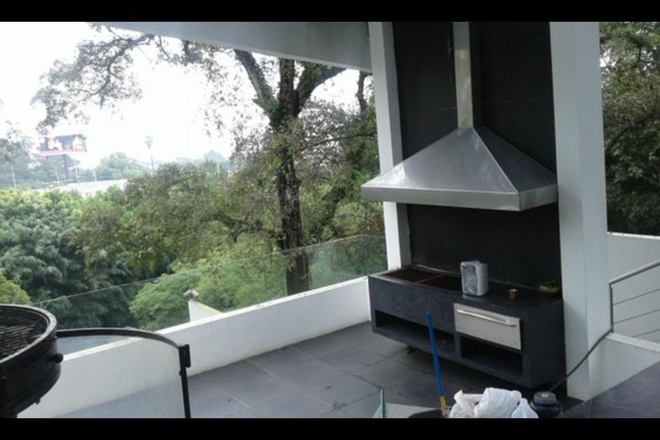 La casa ubicada en el residencial Los Eucaliptos tiene acabados finos, describió un perito ante el juez. (Foto: Archivo/Soy502)