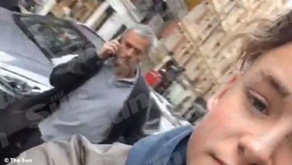Mourinho contra joven foto
