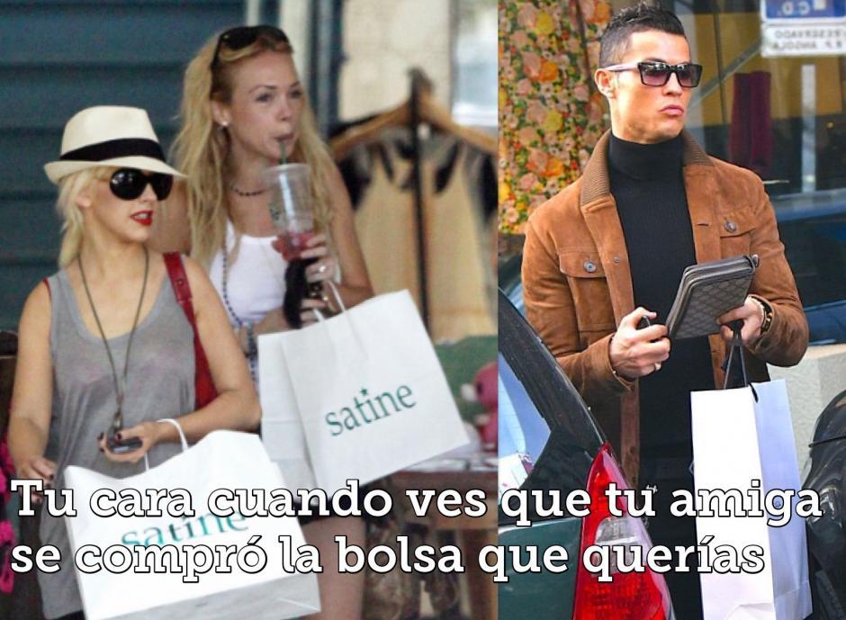 Cristiano aprovechó su día de descanso para ir de compras por Madrid. (Imagen: estilodf.tv)
