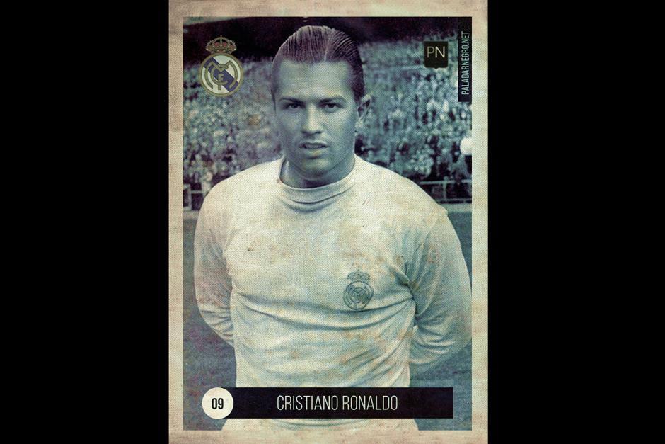 El corte de cabello también fue la clave para que Cristiano Ronaldo regresara varias décadas en el tiempo