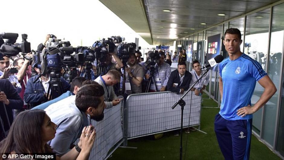 El portugués dijo sentirse bien luego del incidente. (Foto: Daily Mail)