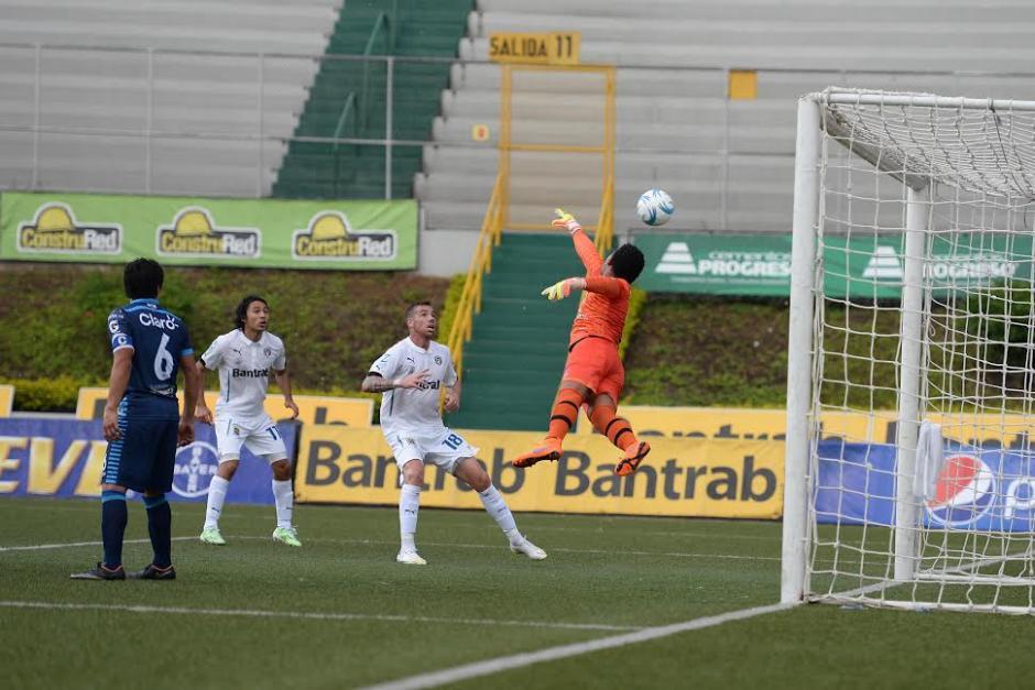 Comunicaciones consiguió un importante triunfo 2-0 sobre Xelajú, en el estadio Cementos Progreso. (Foto: Nuestro Diario)