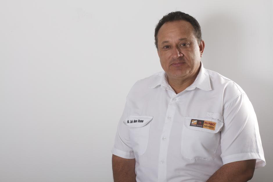 René Ruano se postula por la alianza Creo-Unionista. Ingeniero Químico de profesión. Es la primera vez que participa en la carrera política por la alcaldía de Mixco. (Foto: René Ruano)